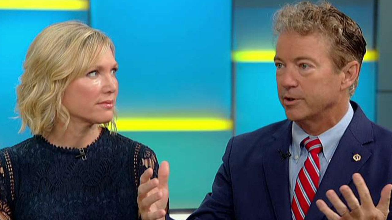 Rand Paul calls for investigation of Dem senators, says they threatened Ukraine aid during Mueller probe
