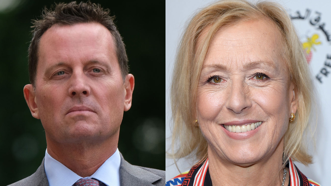 Tennis great Martina Navratilova's attack on Amb Richard Grenell and why it matters: Tammy Bruce