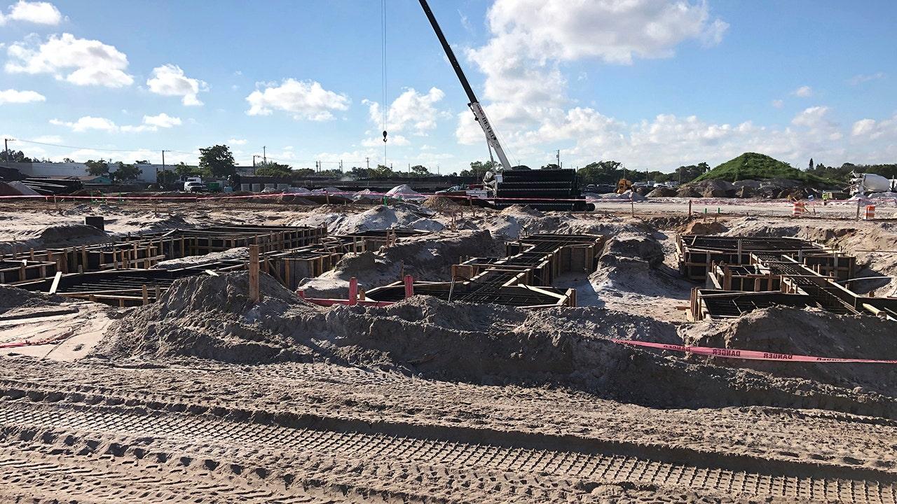 Beckhams Stadion-Komplex für Inter Miami nimmt Gestalt an