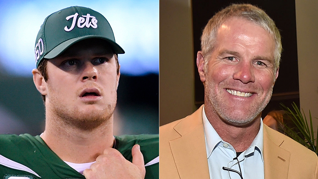 Westlake Legal Group Sam-Darnold-Brett-Favre-AP-Getty Brett Favre sympathizes with Sam Darnold, knows a thing or two about 'seeing ghosts' Ryan Gaydos fox-news/sports/nfl/new-york-jets fox-news/sports/nfl fox-news/person/sam-darnold fox news fnc/sports fnc article 2fc8940b-f106-5362-b341-ea17b1ae6138