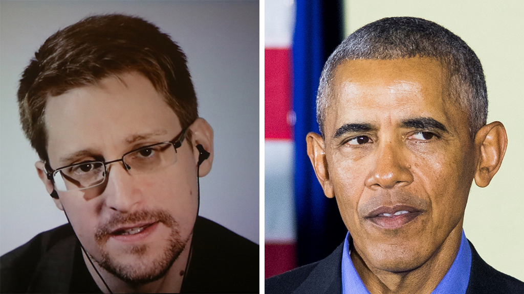 Westlake Legal Group Snowden-Obama_Getty-AP Edward Snowden says Barack Obama made surveillance state 'worse' Sam Dorman fox-news/politics/executive/national-security fox-news/person/barack-obama fox news fnc/media fnc article 5adca4f3-84f7-5867-8a5c-c82b770ebe61