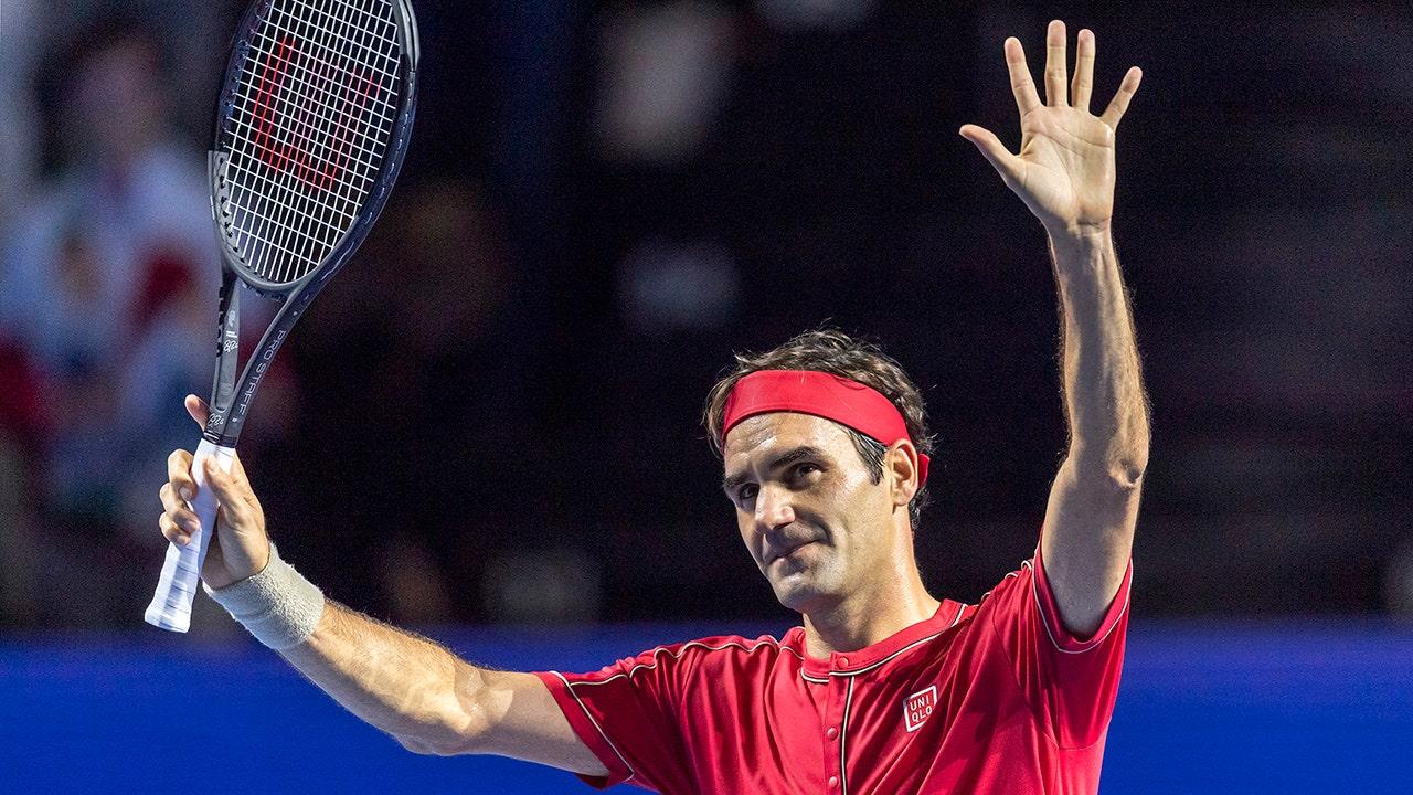 Federer勝簡単にバーゼル1500番目のツアーシングルチ