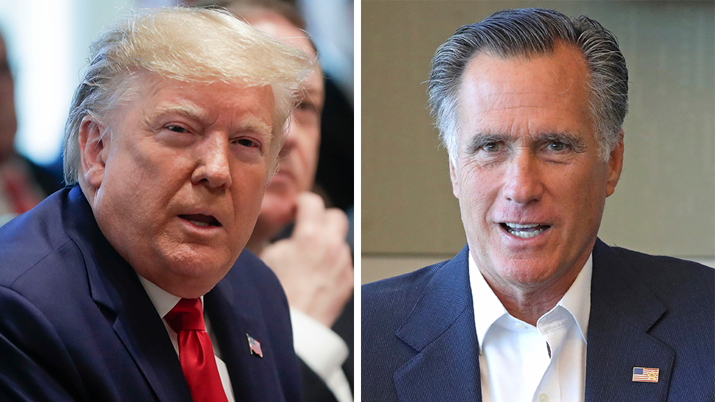 Mitch McConnell, Mitt Romney respond to Trump's peaceful transfer of power remarks