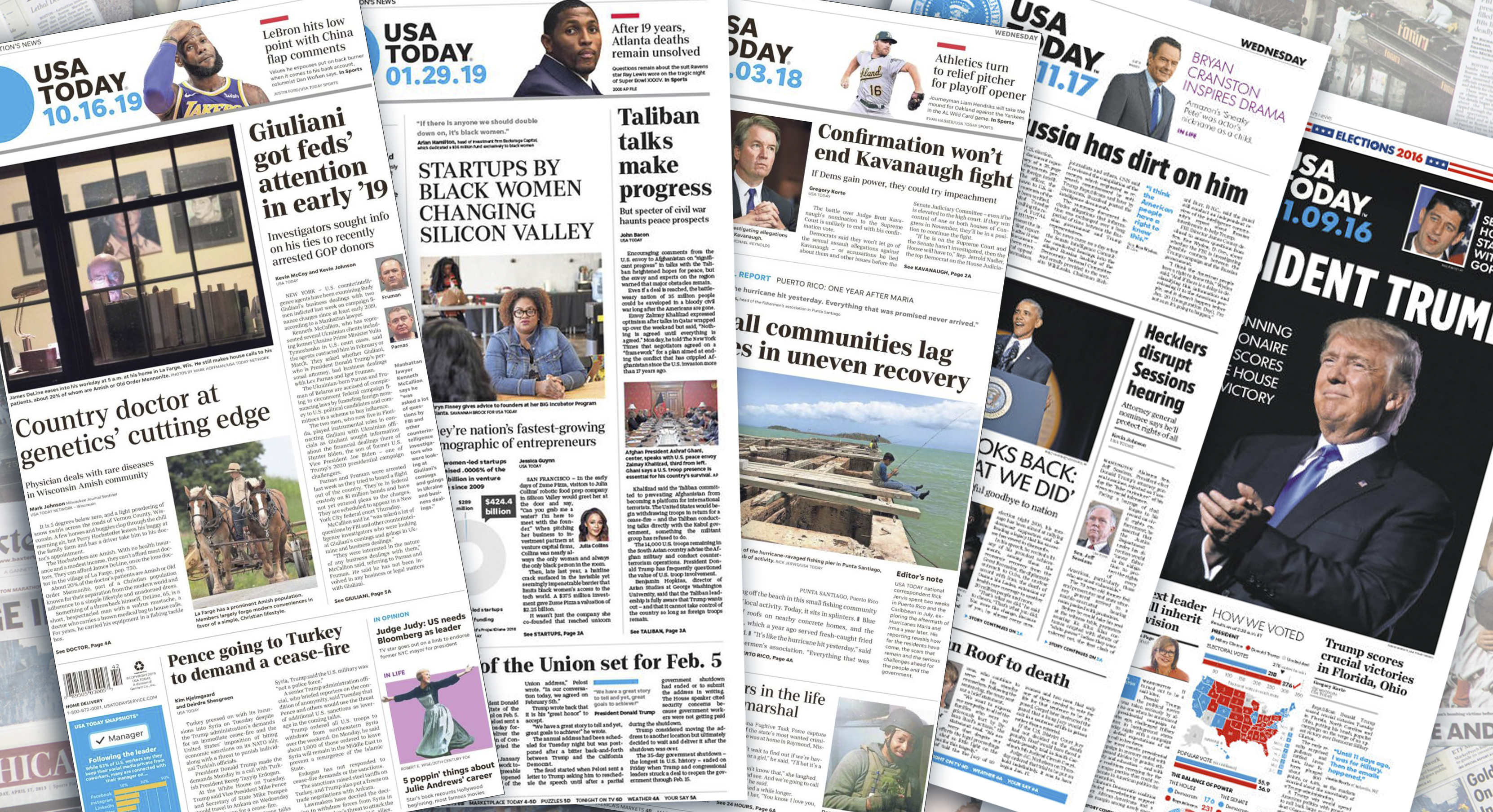 USA Today starting to 'phase out' print edition, report says, as publisher pushes back