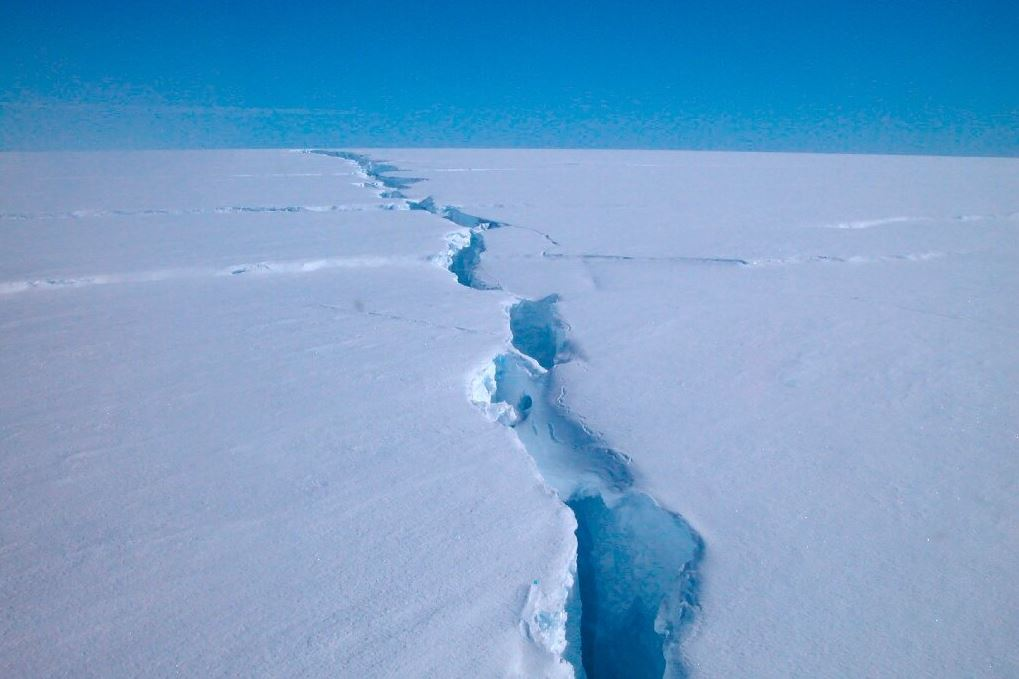 Massive iceberg breaks off Antarctica, but it's not related to climate change