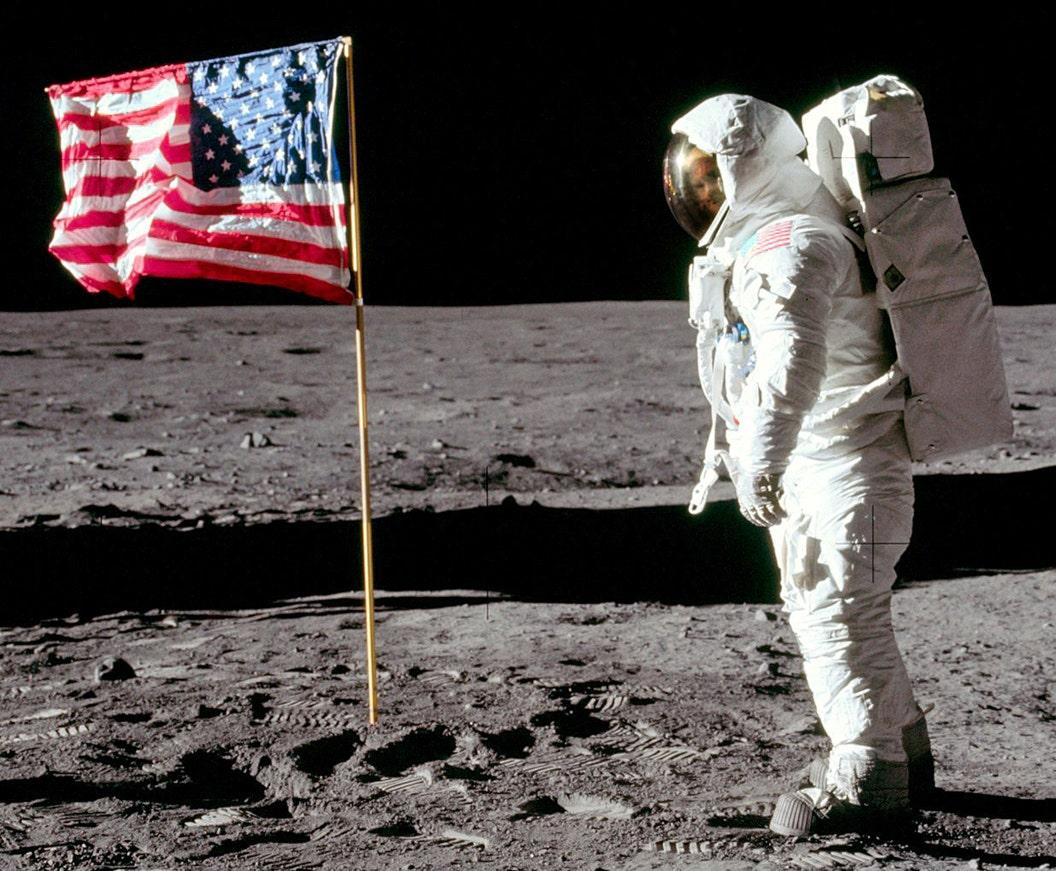 Apollo 11 shocker: Buzz Aldrin's face discovered in iconic photo