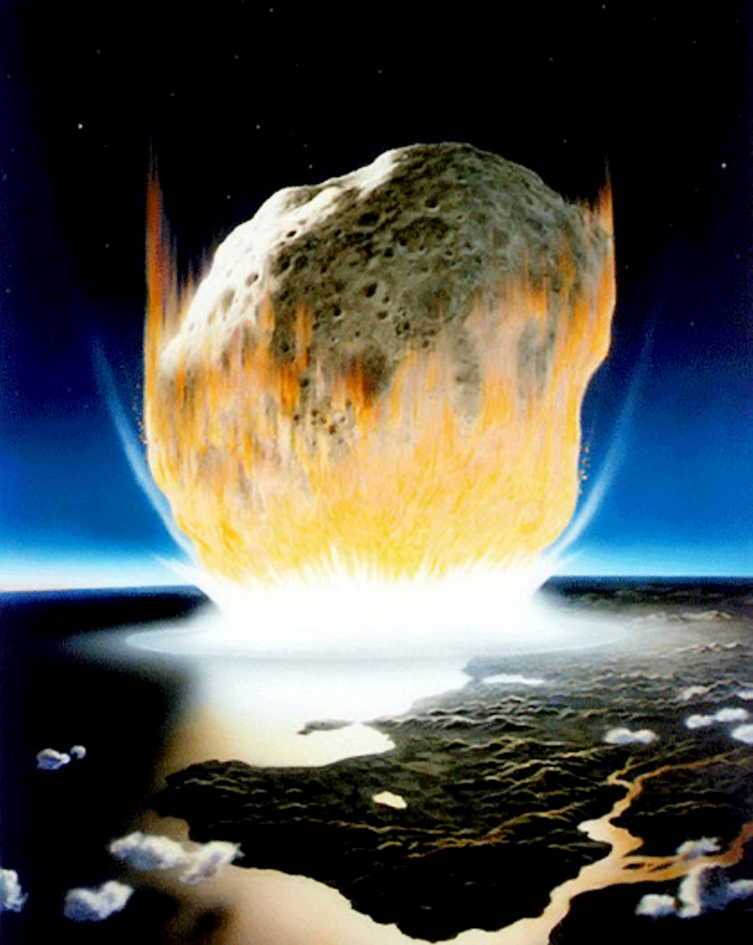 Asteroid that wiped out dinosaurs turned oceans into acid, shocking study says