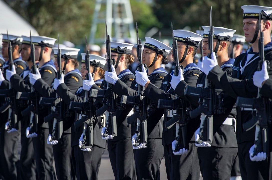 New Zealand navy to allow male personnel to wear fake eyelashes and makeup