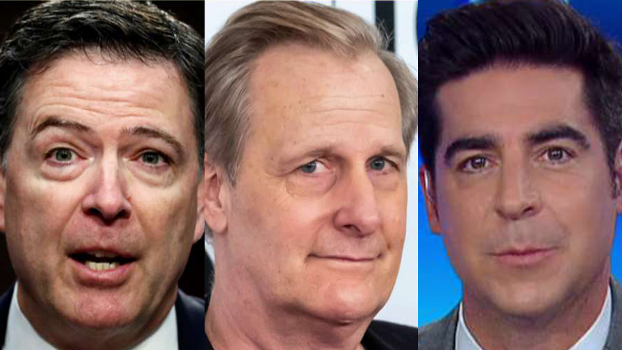 Westlake Legal Group comey-daniels-watters New James Comey TV series is Hollywood's way of 'memorializing' ex-FBI chief as political hero, Jesse Watters says fox-news/tech/topics/fbi fox-news/shows/the-five fox-news/person/james-comey fox-news/person/donald-trump fox-news/news-events/russia-investigation fox-news/media/fox-news-flash fox-news/media fox-news/entertainment/tv fox news fnc/media fnc Charles Creitz bfb2455a-9d1d-5c46-bcb7-e4156b8db77b article