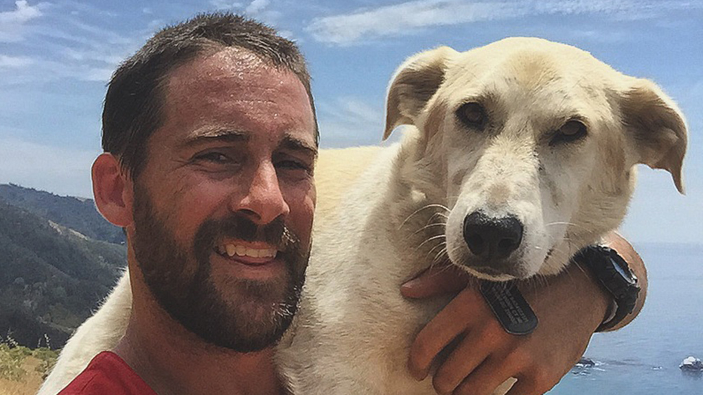 Veteran saves dog in Afghanistan war zone, sneaks him home to safety
