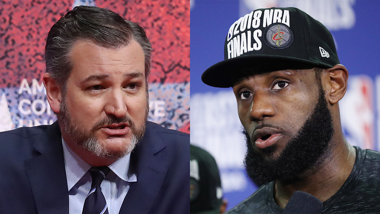 Ted Cruz blasts LeBron for Hong Kong comments: 'Kissing up' to Chinese communists 'not a good look for NBA'