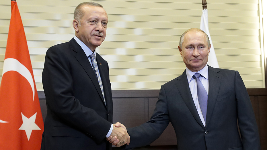 Turkey's Erdogan, Putin meet as Syria cease-fire enters its final hours