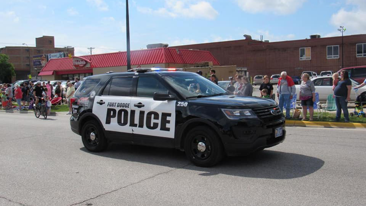 Westlake Legal Group fort-doge-pd-car Iowa boy, 14, is accused of posting 'school shooter' ad on job website fox-news/us/us-regions/midwest/iowa fox-news/us/crime fox news fnc/us fnc article 923b3f68-4eb2-5ddd-8d42-cb2e9c197091