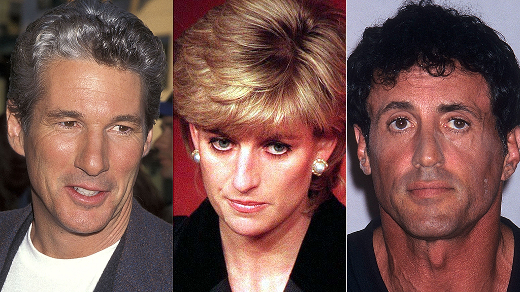 Sylvester Stallone and Richard Gere once fought over Princess Diana according to Elton John