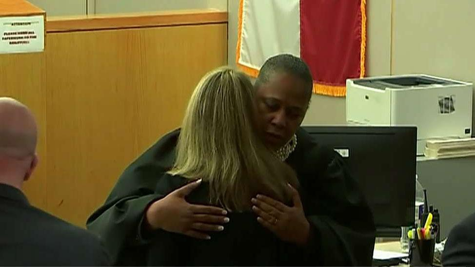 Dallas judge 'lived out her faith' by giving courtroom hug to officer Amber Guyger: Jonathan Morris
