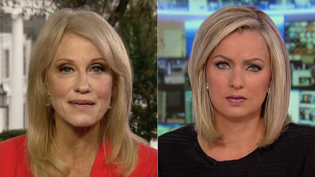 Westlake Legal Group kelly-ann-conway-sandra-smith-FOX Kellyanne Conway responds to claims she threatened and bullied reporter in phone call Julia Musto fox-news/shows/americas-newsroom fox-news/person/donald-trump fox-news/media/fox-news-flash fox news fnc/media fnc article 17b603ac-9c28-54fa-bab9-d3e9771ca33d