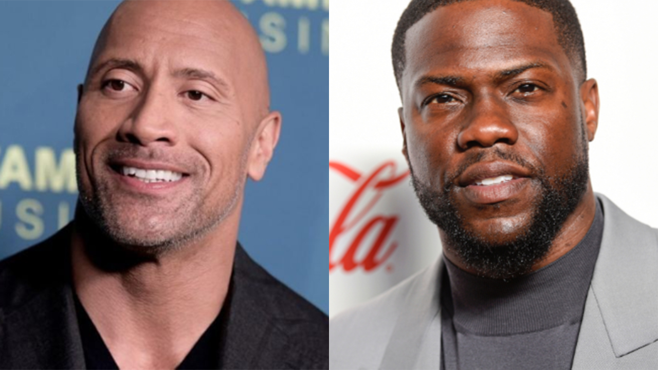 Kevin Hart is Dwayne Johnson for Halloween
