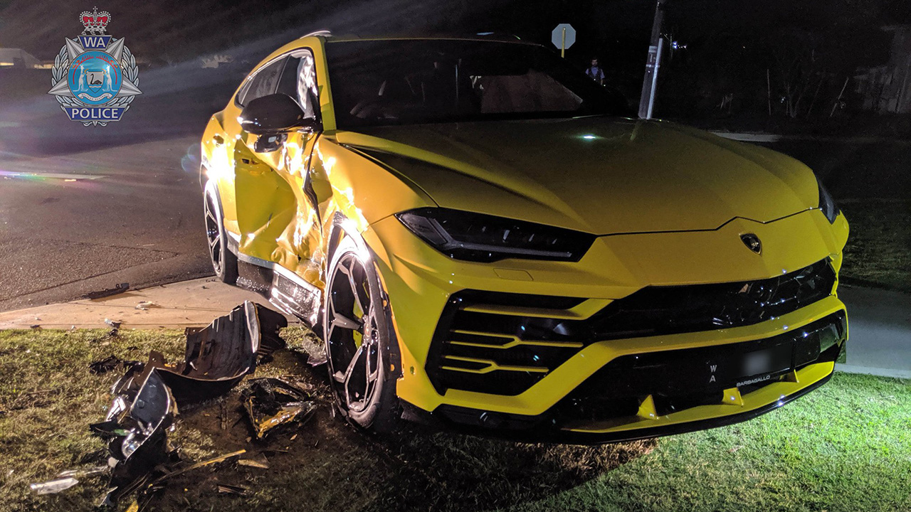 14-year-old wrecks $250G Lamborghini with stolen car: police