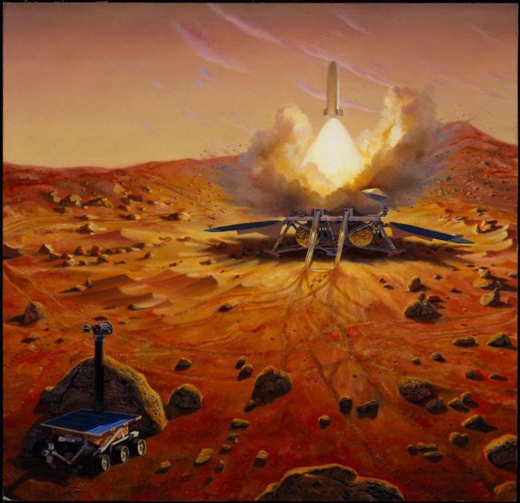 Die NASA könnte, bringen Stücke von Mars zur Erde in einen Darth Vader Helm