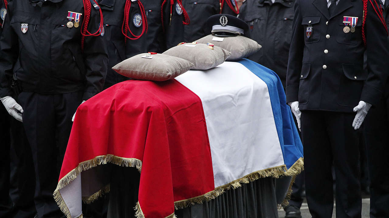 French President Macron honors 'victims of Islamic terrorism' killed in Paris knife attack