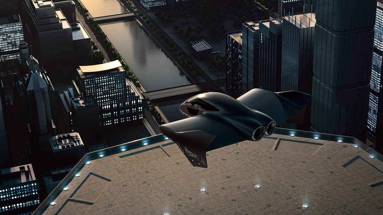 Porsche, Boeing co-developing flying electric vehicle