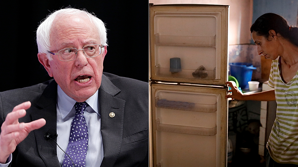 Venezuelan politician challenges Bernie Sanders to 'go to Venezuela without bodyguards' for a week