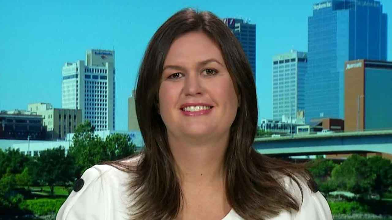 Sarah Sanders: President Trump should be celebrated, not impeached