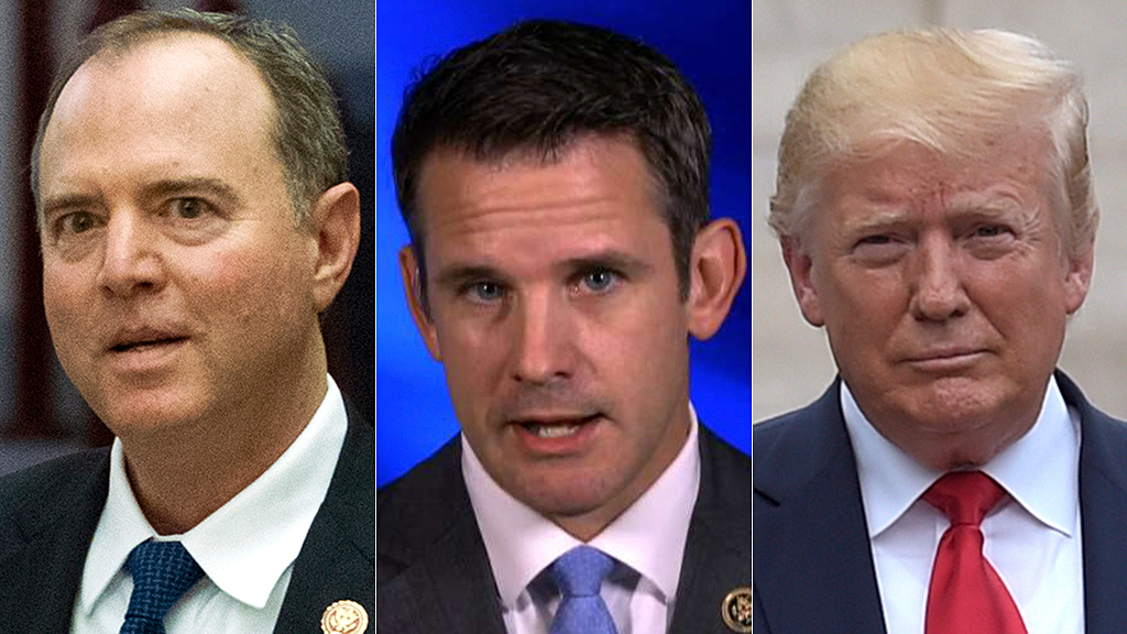 Rep. Kinzinger: Adam Schiff's 'selective leaking' has turned impeachment push into a 'clown show'
