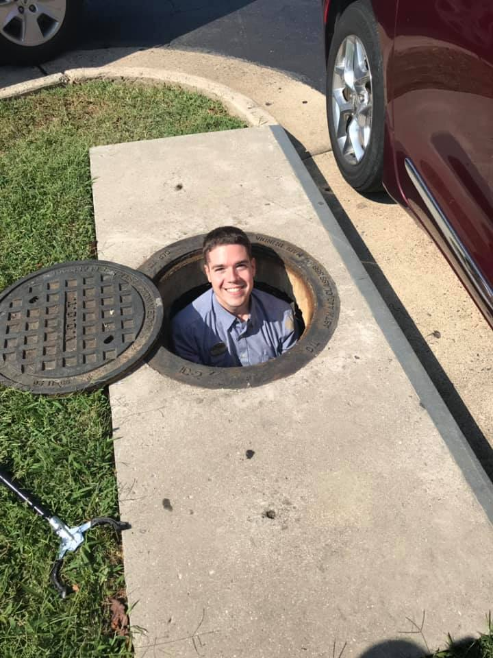 Chick-fil-A employee climbs down storm drain to retrieve customer's phone: 'One awesome guy'