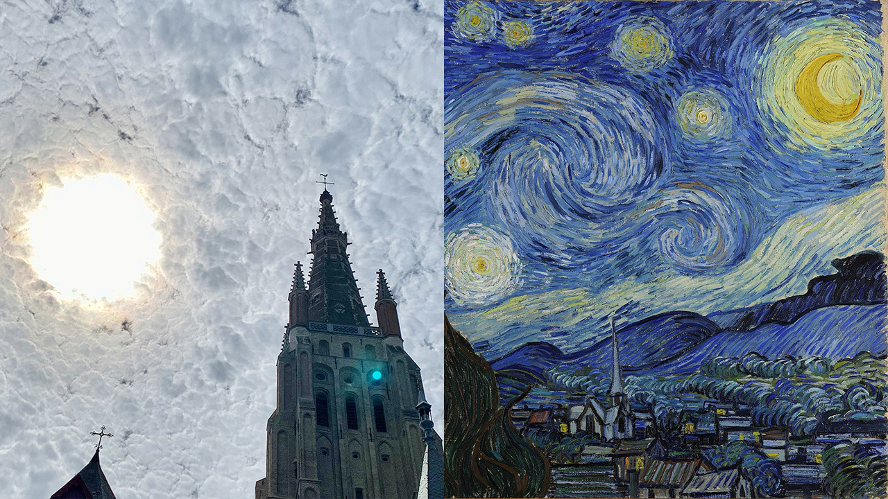 Tourist takes 'magical' photo evoking Van Gogh's 'Starry Night'