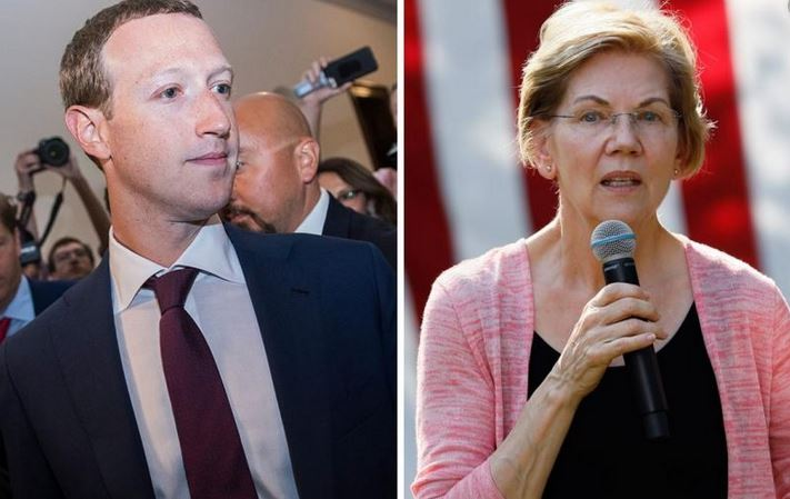 Westlake Legal Group warren-zuck-split Elizabeth Warren intentionally submitted Facebook ad with false claims to expose platform, warn about Trump's ads Sam Dorman fox-news/tech/topics/big-tech-backlash fox-news/tech/companies/facebook fox-news/politics/elections fox-news/politics/2020-presidential-election fox-news/person/elizabeth-warren fox news fnc/media fnc article 1fa54f24-0c48-536a-83e0-a62f4634bc04