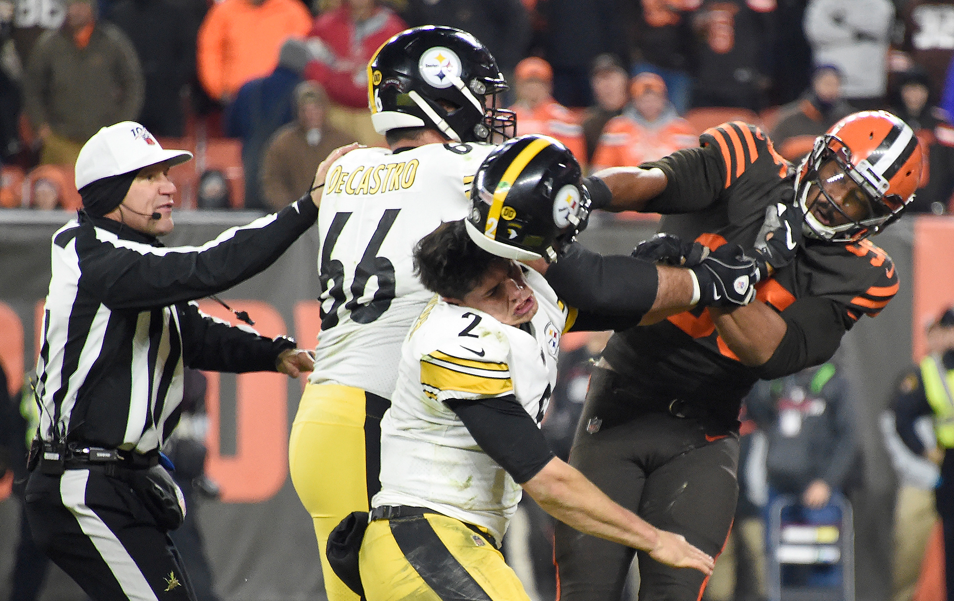 Westlake Legal Group 11_GettyImages-1187748357 Cleveland Browns' Myles Garrett to appeal indefinite suspension this week: reports Ryan Gaydos fox-news/sports/nfl/pittsburgh-steelers fox-news/sports/nfl/cleveland-browns fox-news/sports/nfl fox-news/person/myles-garrett fox-news/person/mason-rudolph fox news fnc/sports fnc article 0495f60b-114f-5321-9b96-57abaa89d13c