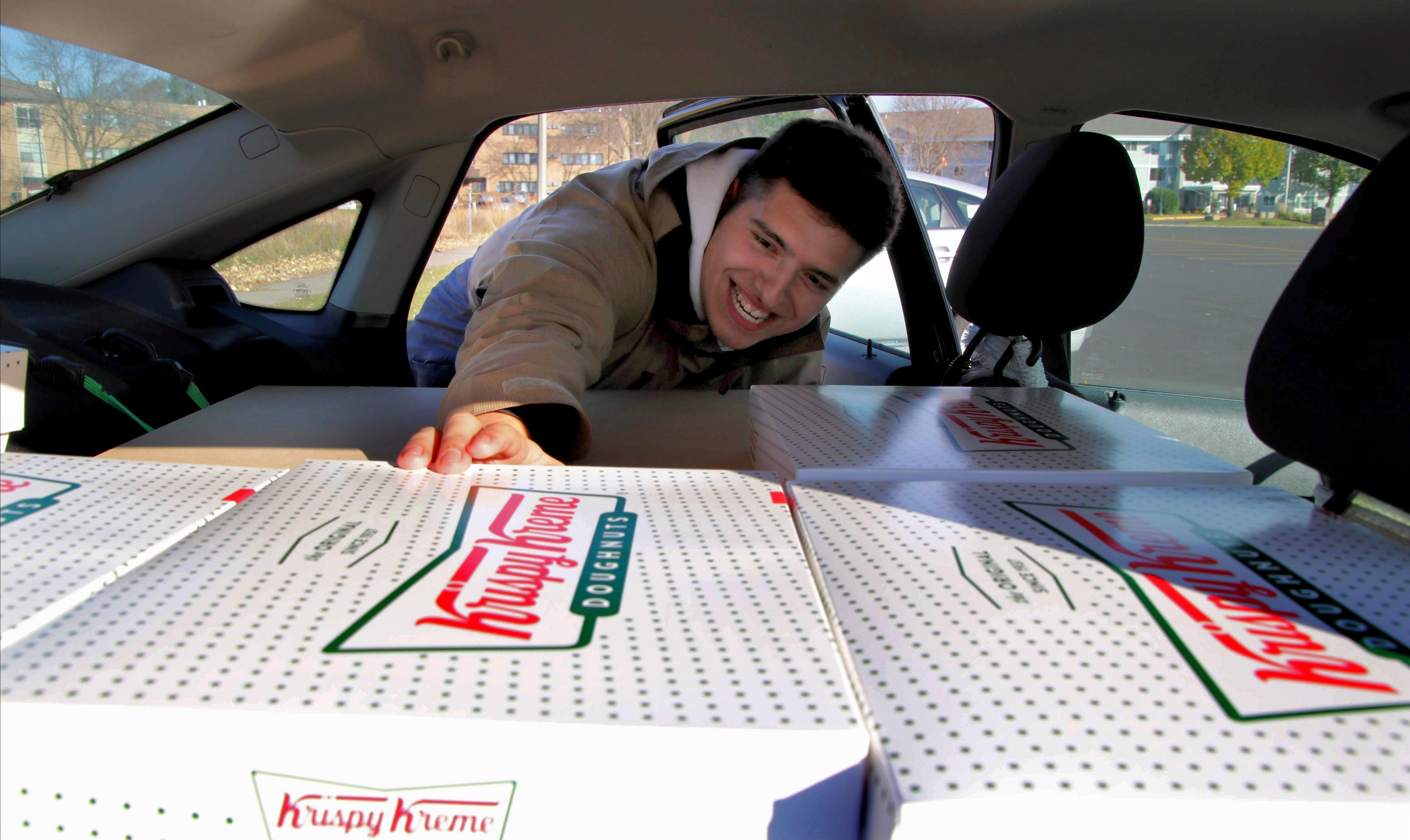 Knusprig-cremigen Bestellungen Minnesota student, gekauft, weiterverkauft Donuts zu 'shut-down-Operationen