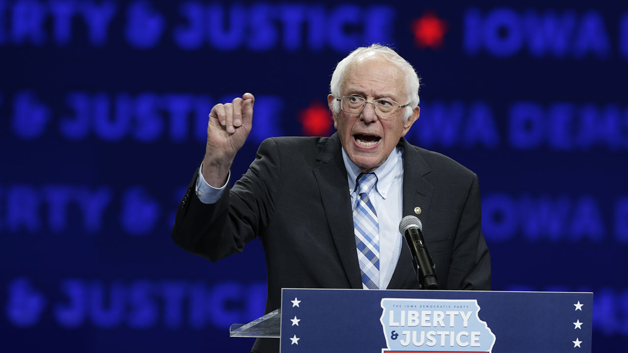 Bernie Sanders blasts Michael Bloomberg at Iowa rally: 'You ain't gonna buy this election'