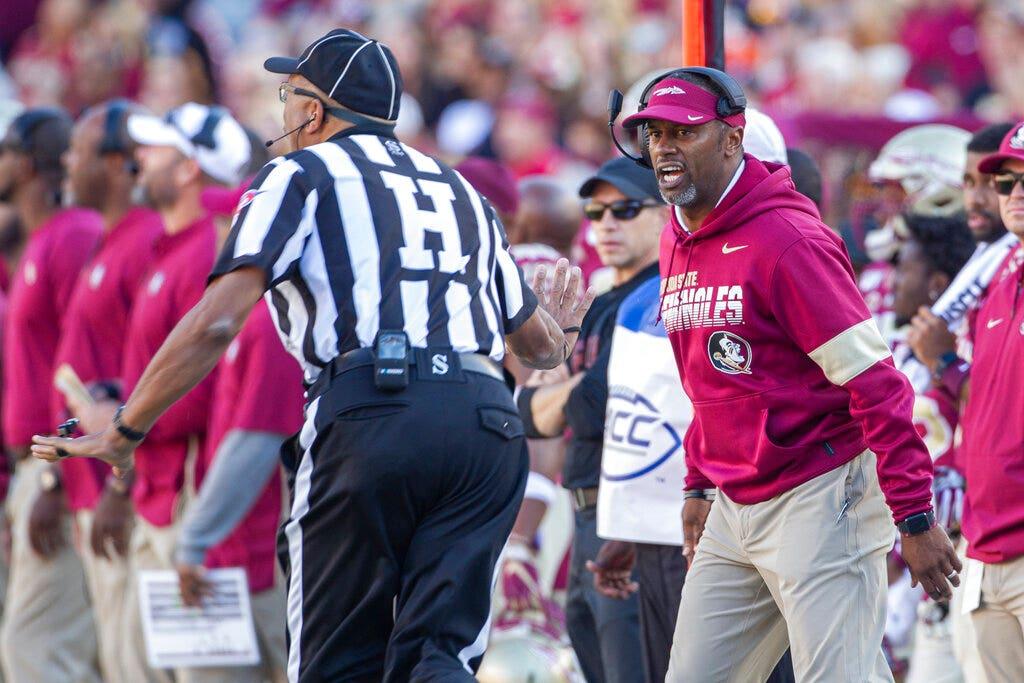 Florida State coach Willie Taggart feuerte nach 21 spielen
