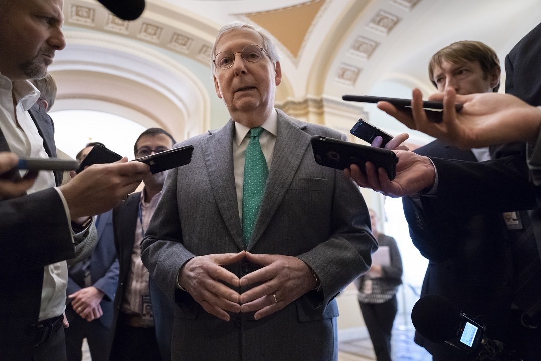 Westlake Legal Group AP19310674993097 McConnell bashed by Dems for delaying USMCA vote until after impeachment trial Nick Givas fox-news/world/trade fox-news/politics/trump-impeachment-inquiry fox-news/politics/elections/senate fox-news/politics/elections/democrats fox-news/person/mitch-mcconnell fox-news/person/donald-trump fox news fnc/politics fnc article 1154b7e2-2b68-5e7c-b2e2-7f1c81f78a6c