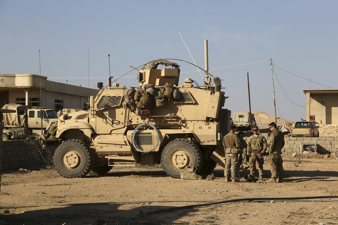 Rockets fired on Iraq base with US troops