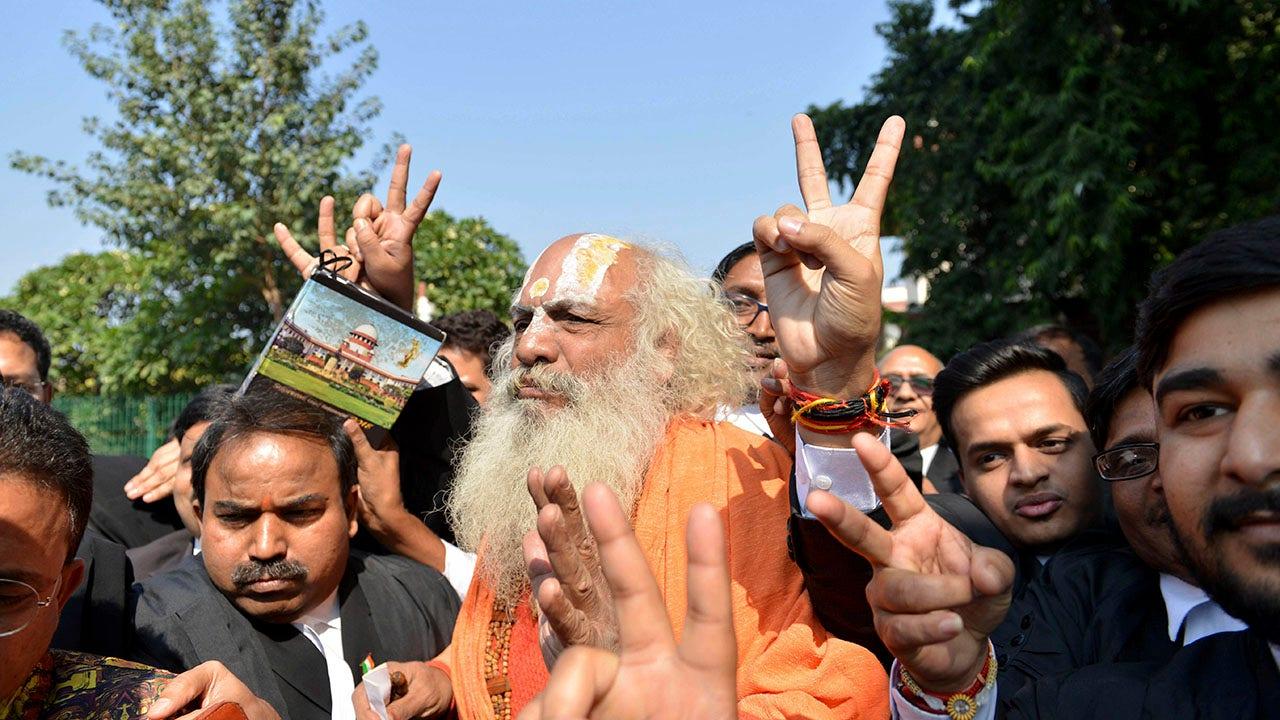 インドの裁判所の規則案のヒンドゥー寺院、紛争地