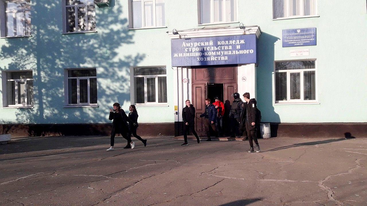 Russland Amoklauf Blätter 2 tote, 3 Verletzte
