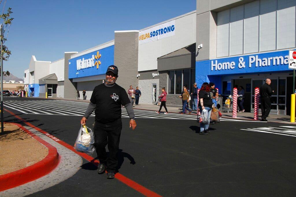 Mexican families of El Paso shooting victims sue Walmart