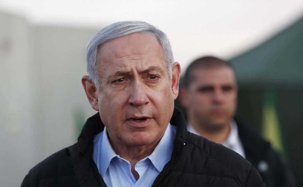 Westlake Legal Group AP19328605653321 Benjamin Netanyahu places military on high alert, praises Trump for Soleimani killing: He 'deserves all the credit' Paulina Dedaj fox-news/world/world-regions/israel fox-news/world/conflicts/iran fox-news/politics/foreign-policy/middle-east fox-news/person/benjamin-netanyahu fox news fnc/world fnc d27726e4-20b6-5a95-a616-2c0a70732778 article