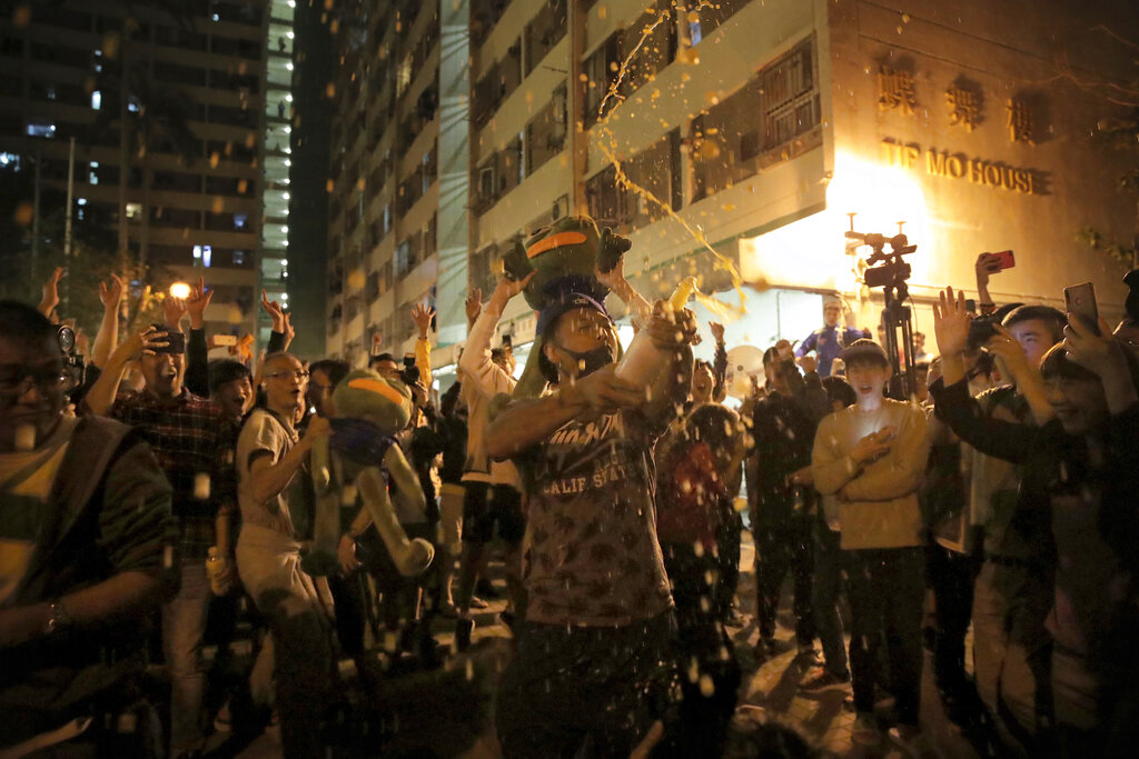 Westlake Legal Group AP19328665445442-1 Trump signs bill supporting Hong Kong protesters despite strong opposition from China fox-news/world/world-regions/hong-kong fox-news/world/world-regions/china fox-news/politics/foreign-policy fox-news/person/donald-trump fox news fnc/politics fnc article Andrew O'Reilly 2ab0de3a-3024-57b7-9c1c-41f312ce24c3