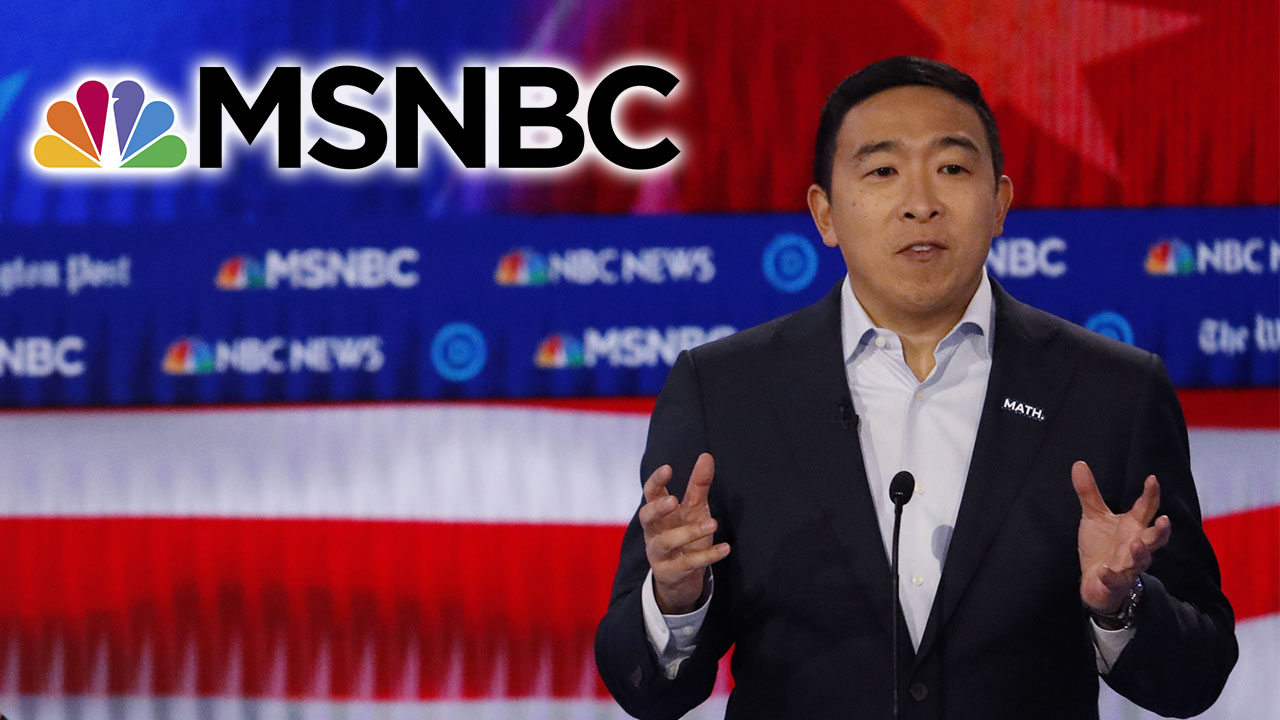 Westlake Legal Group Andrew-Yang-MSNBC-AP Andrew Yang ends self-imposed MSNBC boycott, wants to reach 'as many Americans as possible' Sam Dorman fox-news/politics/elections fox-news/politics/2020-presidential-election fox-news/person/andrew-yang fox news fnc/media fnc article 94156f2d-f8f5-564f-99b8-6bab0b1f802d