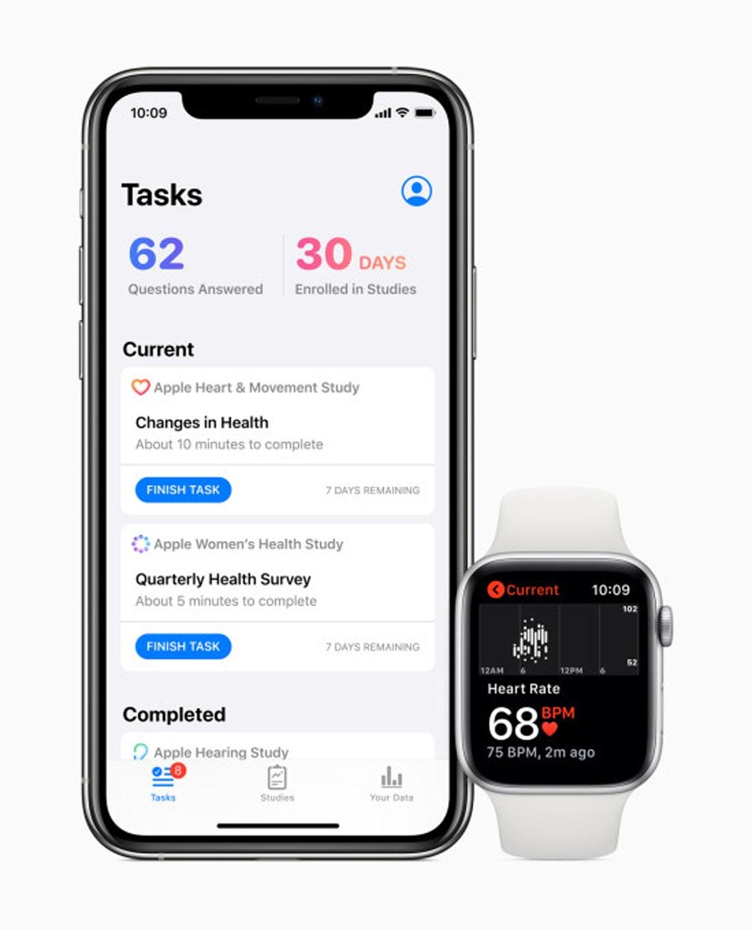 Apple đào sâu hơn vào tham vọng sức khỏe với ứng dụng Nghiên cứu mới, nghiên cứu về sức khỏe