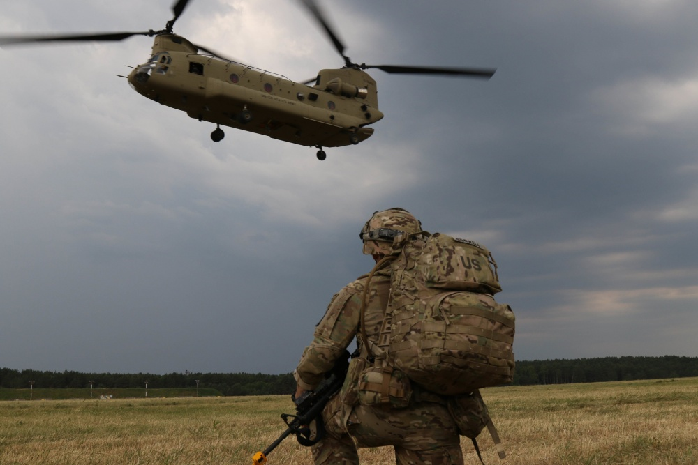 NATO, US Army to conduct air assault 'forcible entry' exercise in Lithuania