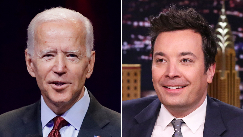 Jimmy Fallon mocks Biden's 'blunders,' jokes Trump didn't need to call Ukraine