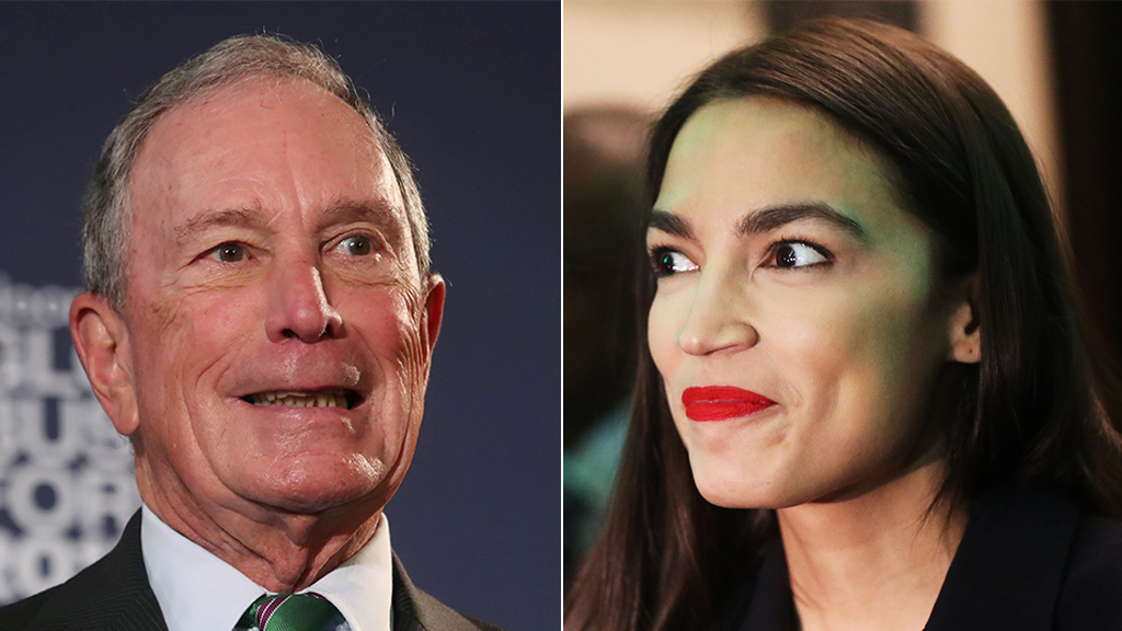 AOC appears to accuse Bloomberg of trying to 'purchase our political system'