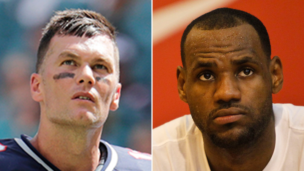 LeBron James joins 'long-time' friend Tom Brady in playing until 'we can't walk no more'