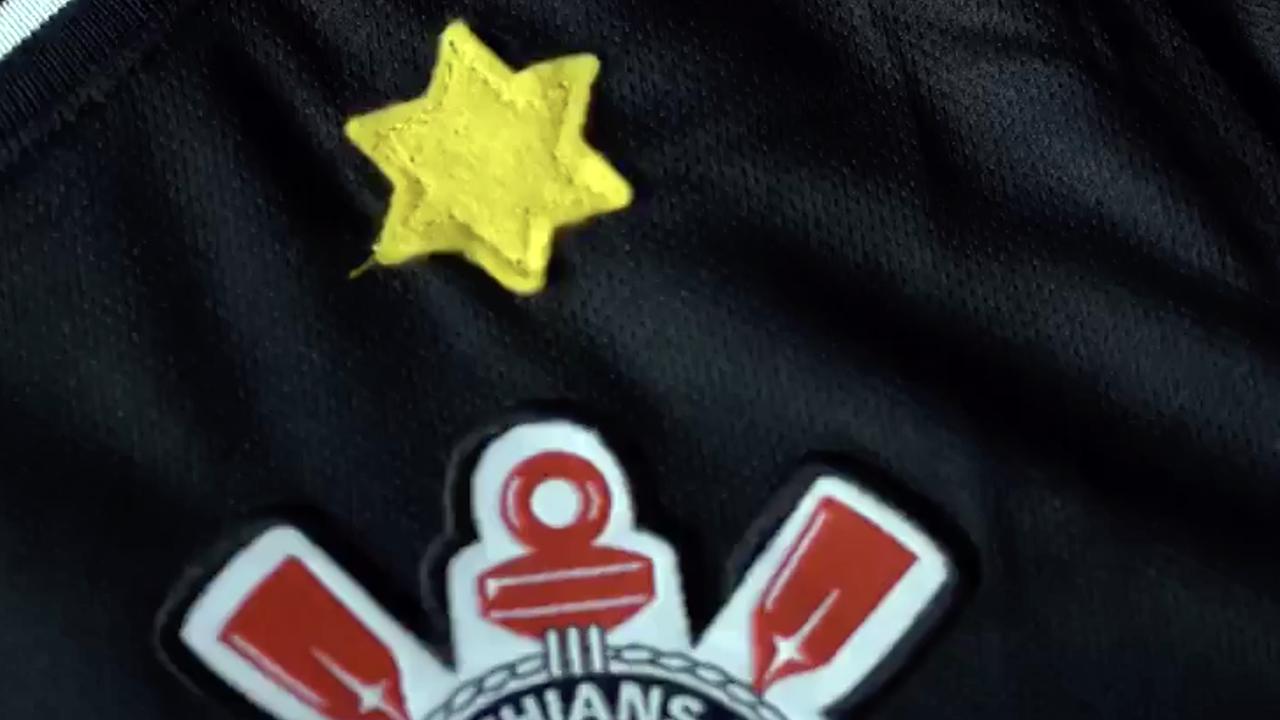 Brazilian soccer club wears Star of David on jerseys to mark Kristallnacht anniversary