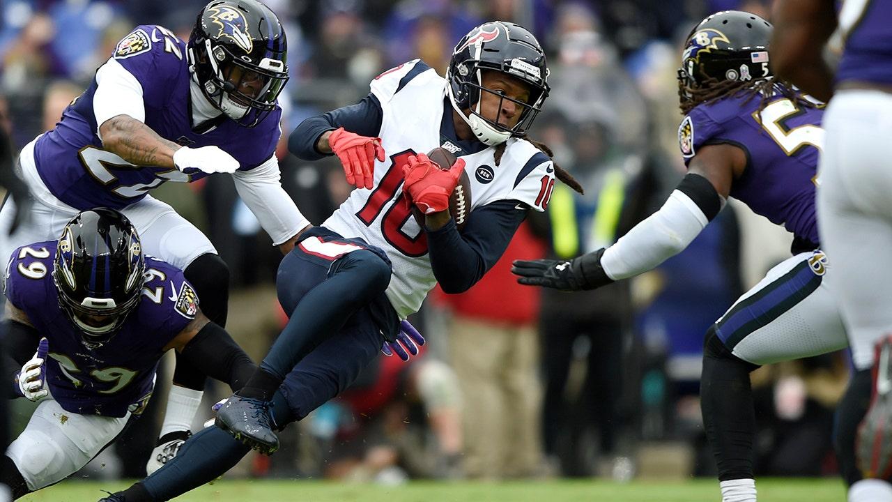 Houston Texans' DeAndre Hopkins nimmt Schuss auf die NFL-offiziellen über pass-Interferenz-no-call